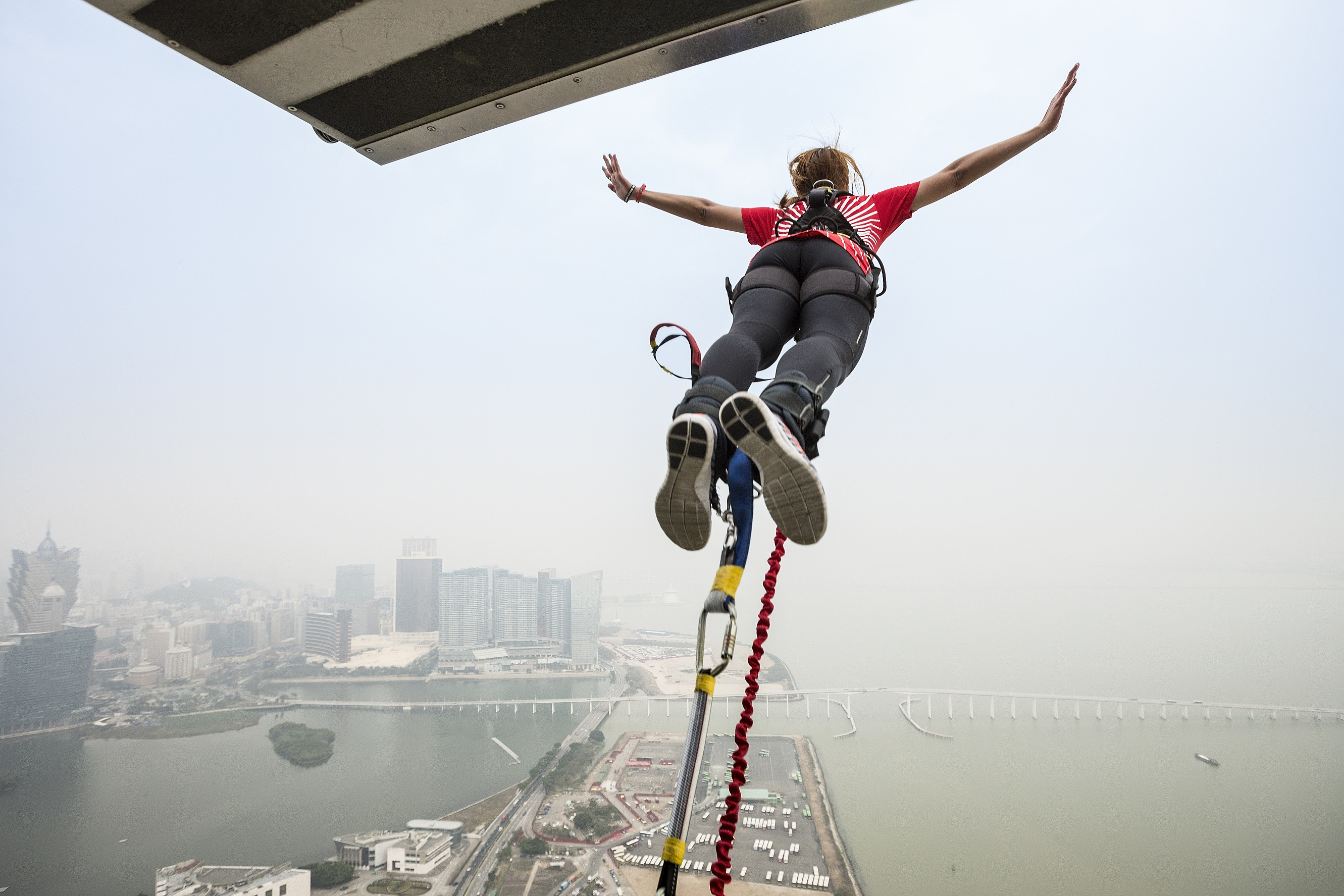 bungy jump macau tower